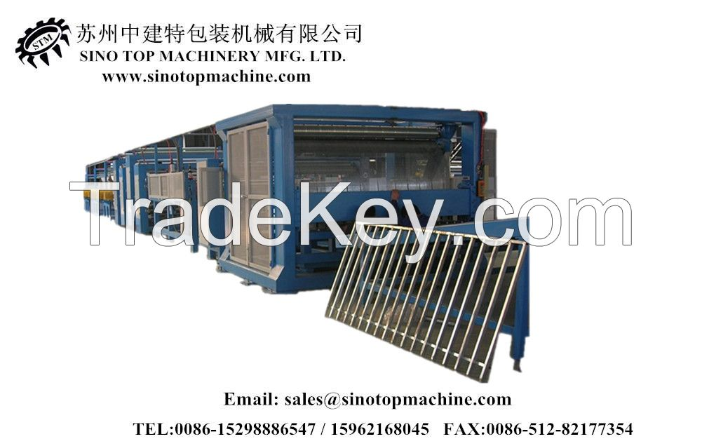 high speed automatic honeycomb laminator machine