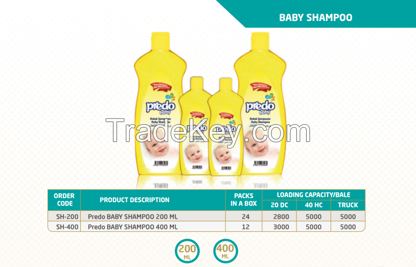 Sell Offer on Predo Baby Shampoo