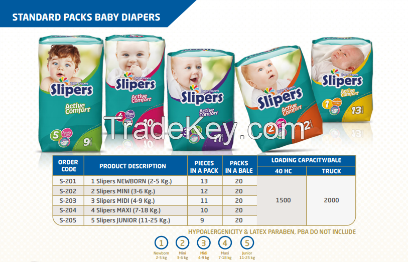 Sell Offer Slipers Baby Diapers