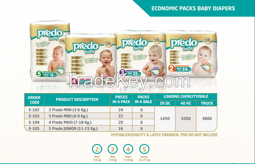 Selling Offer on Predo Diapers for Babies