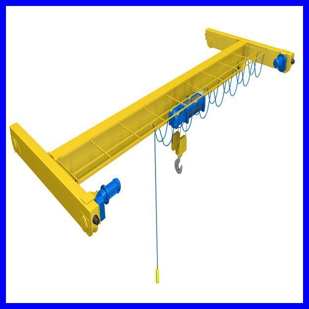 7T european type single girder overhead crane with CE