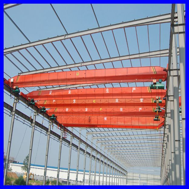 10T european type single girder overhead crane with CE