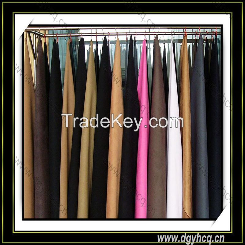 best quality  faux suede leather for jewelry package