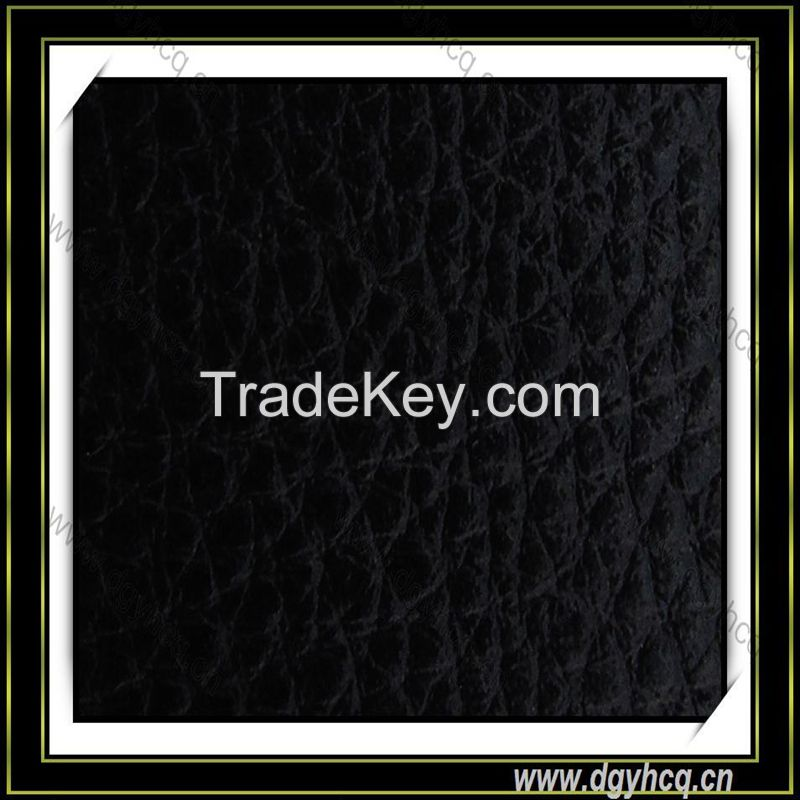 classic Embossed pu synthetic microfiber leather