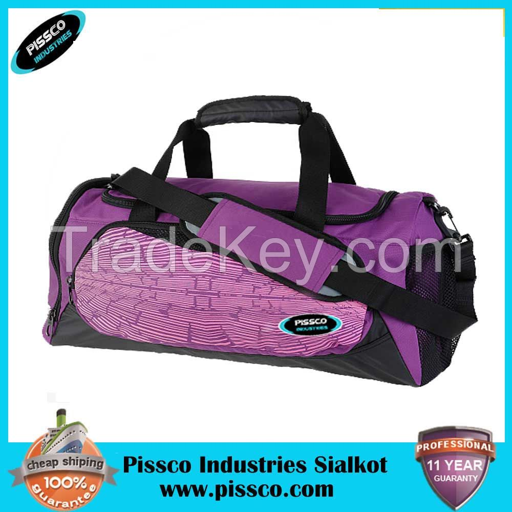 Fashion gym ball sports bag for men with shoe compartment