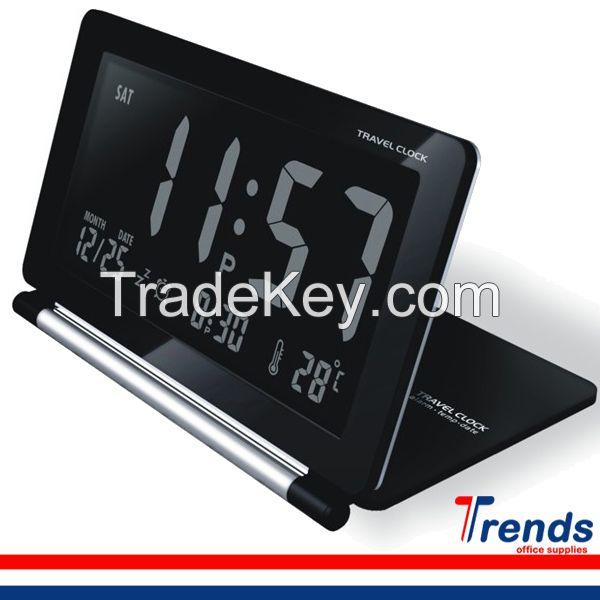 Desk/Travel LCD Alarm Clock