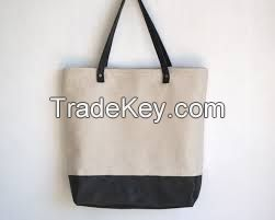 Vietnam canvas tote bags wholesale new style 2015