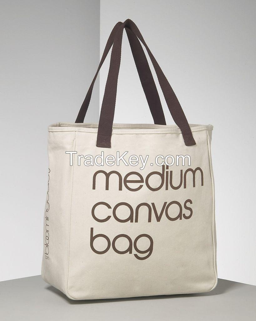 Hottest customized imprinted plain shopping canvas bags vietnam