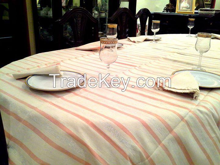 Egyptian Hand Loomed Table Cloths