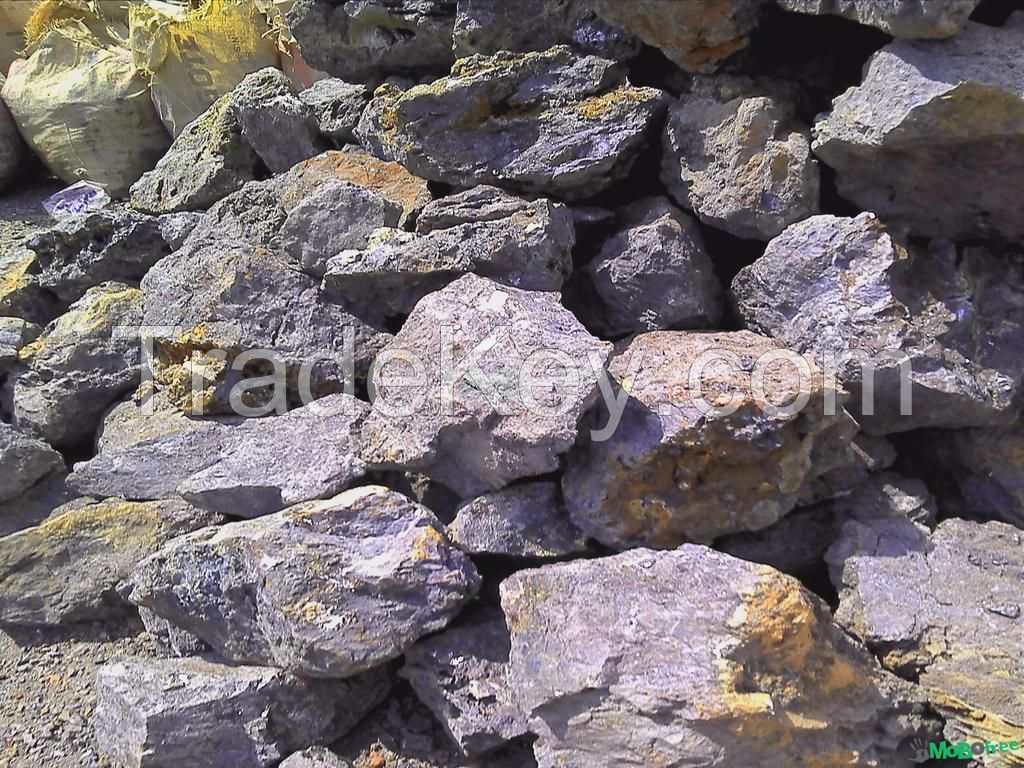 Zinc ore available at $9 per 1% content