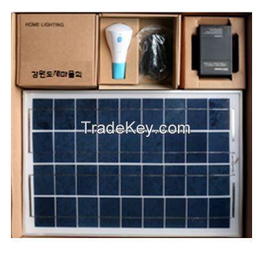 Solar-based LED Lighting System