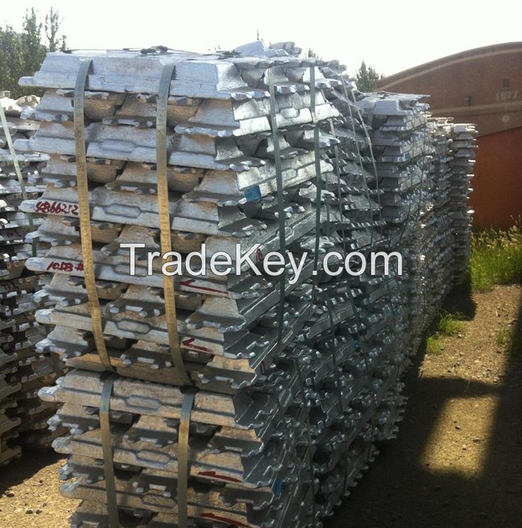 Sell Aluminum Ingot 99.7%