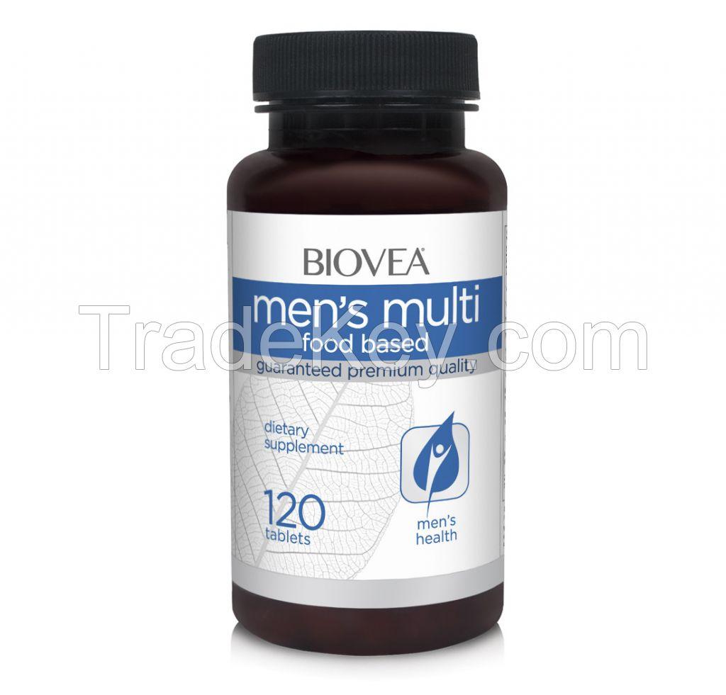 MEN'S MULTI (FOOD BASED) 120 Tablets