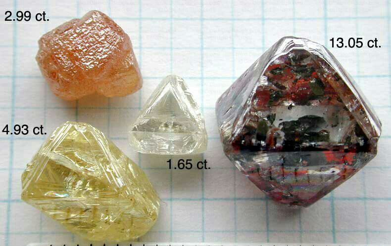 ROUGH and uncut diamonds for sale