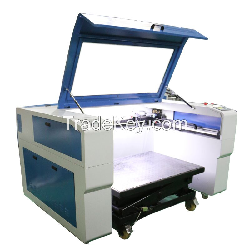 Hot sale 100W CO2 laser granite engraving machine for tomb stones