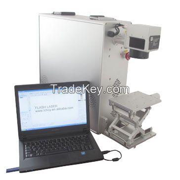 10w 20w 30w fiber laser marking machine on metal and non-metal materials