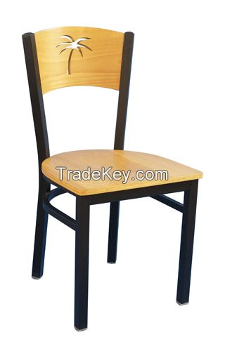 Restaurant furniture Chair with wood back(ALL-209)