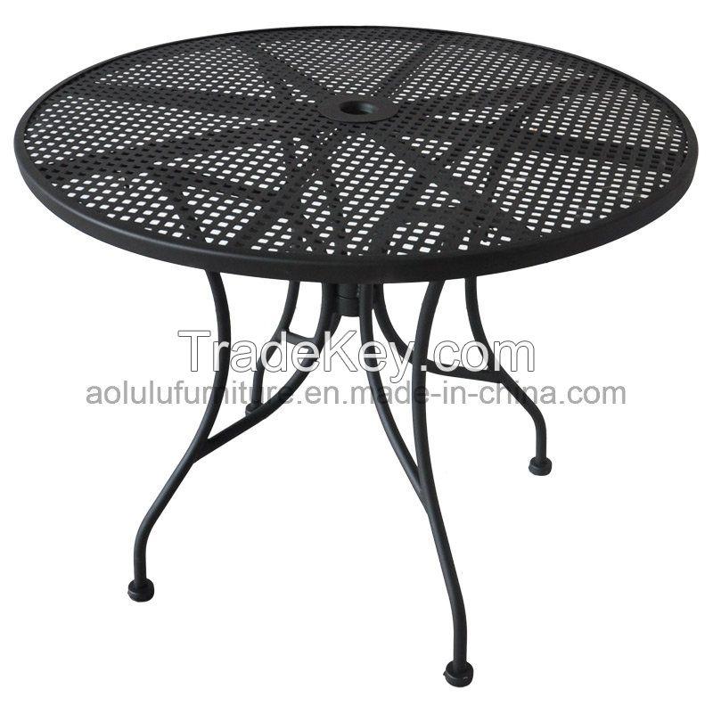 Steel outdoor Table garden furniture(ALL-OT3030)
