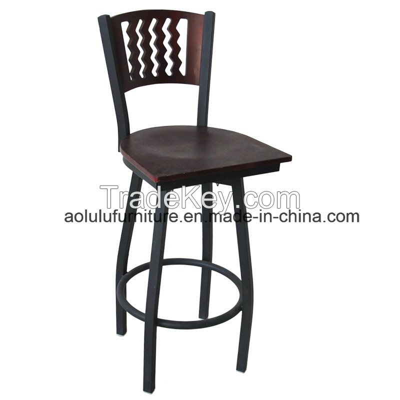 Hot Sale Metal Chair for Restaurant (ALL-209BS)