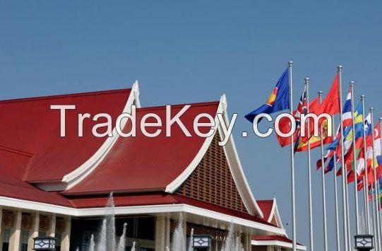 Sell Aluminum Flagpoles - tapered flagpole sets
