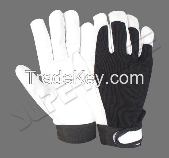 Assembly Gloves / Safety Gloves / Goatskin gloves
