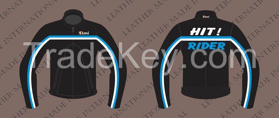 Fashion Motorbike Leather Jacket