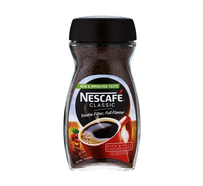 INSTANT COFFEE BRANDS - CLASSIC AND GOLD (TINS / BOTTLE)