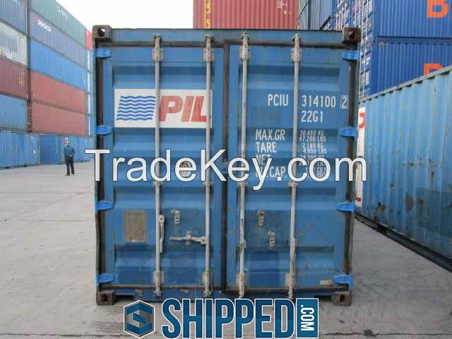 20' WWT SHIPPING CONTAINER FOR HOME STORAGE, CONSTRUCTION, CARGO, ETC