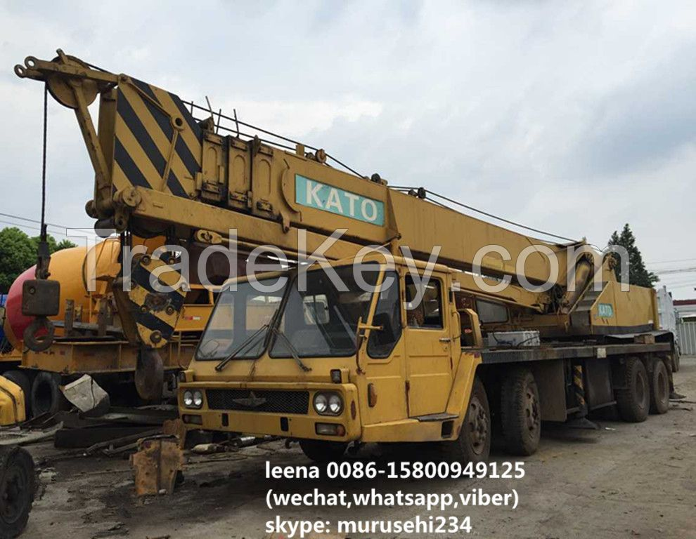 used kato 30tons truck mounted crane