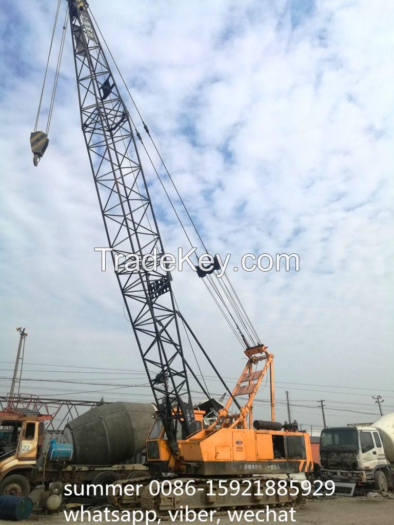 used 50tons hitachi KH180 crawler crane price
