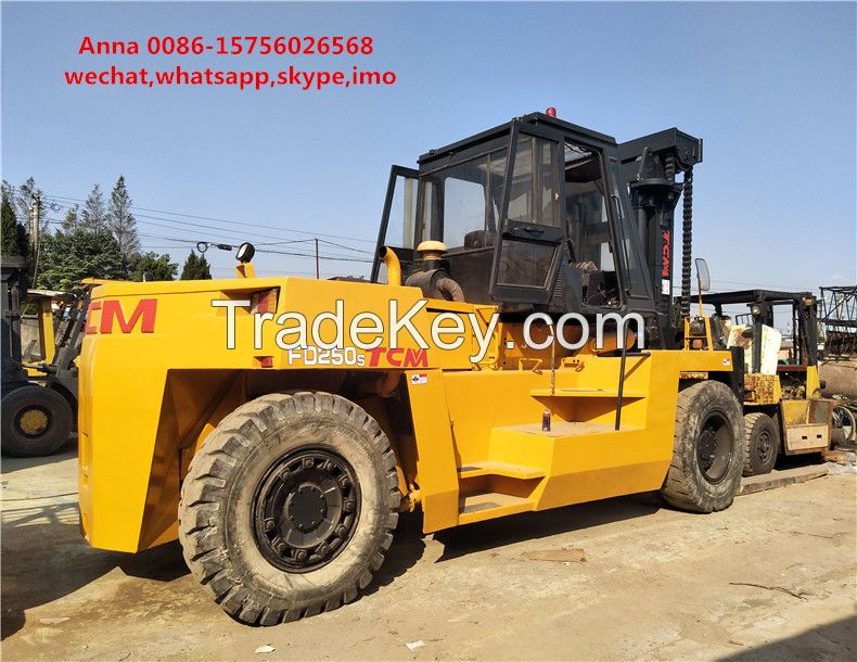 Good quality used 25 ton TCM forklift