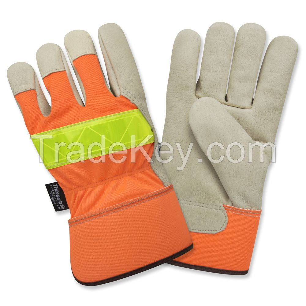 Cow Hide Split Leather Gloves