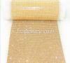 Hot melt glue rhinestone mesh cloth