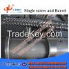 Plastic PVC Profile Twin Screw Extruder Screw and Barrel