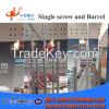 Plastic Granulators Screw Barrel/ Pellets Extrusion Parts