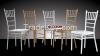 Chiavari chair / Tiffany chair