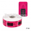 Lady Victory Dual Rectangle Nail Art Form 500 For Gel Nails JT-00