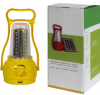 2W solar emergency light with rechargeable battery