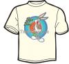 buggs bunny printed t-shirt