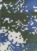 Military Digital Camouflage T/C fabric