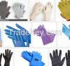 Latex exam gloves, surgical gloves, nitrile gloves, vinyl gloves, household gloves industrial