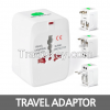 Universal adaptor, Adaptor, Plugs, Multi-funetioin adaptor, Outlet, travel outlet, oversea receptacle