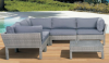 outdoor garden rattan sofa PFO-8010-1