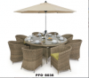 outdoor garden rattan set PFO-8036
