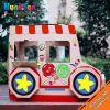 100% Eco Cardboard Kids Color in House Candy Van