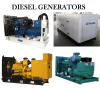 Standby & Mobile Diesel Generators up to 2000Kva Heavy Duty Sets