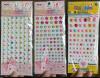 Charming rhinestone stickers