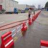OEM rotomolding plastic traffic barrier/ road safty barrier