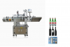 Round plastic or glass bottle automatic labeling machine