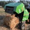 straw hay grass rice baler machine bundling equipment
